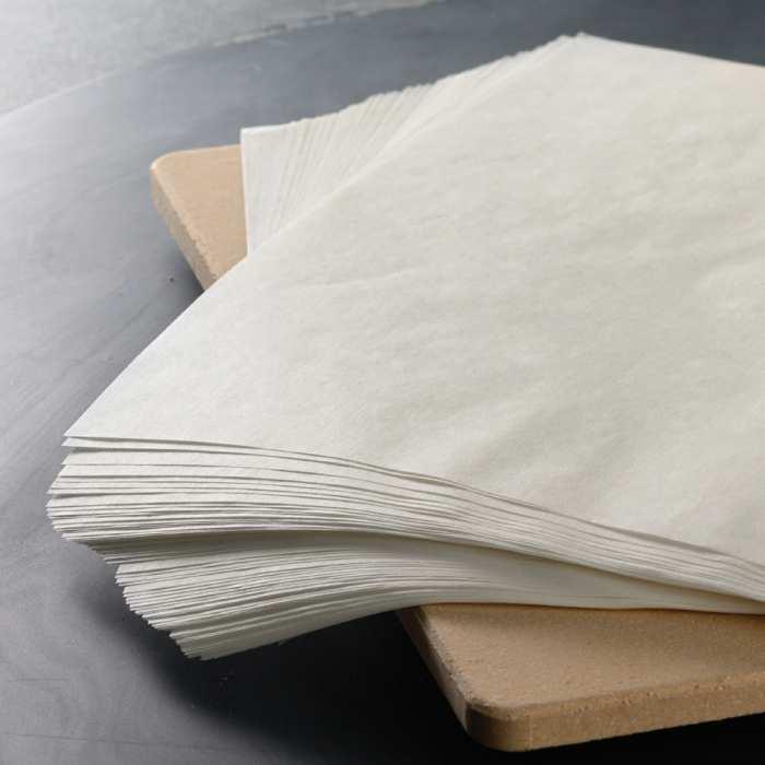 Bakpapier verbrand