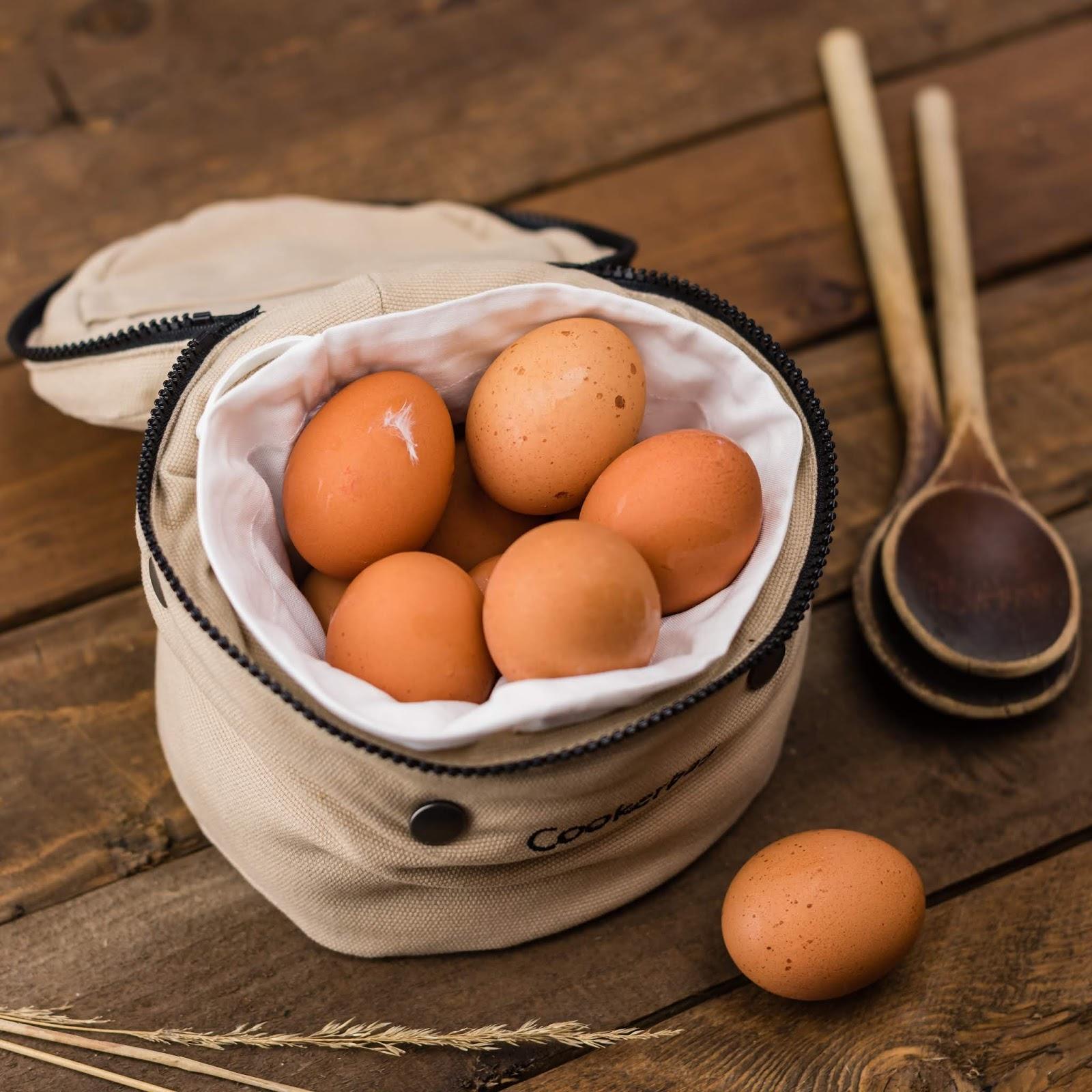 Hoe lang kun je gekookte eieren bewaren, en hoe?