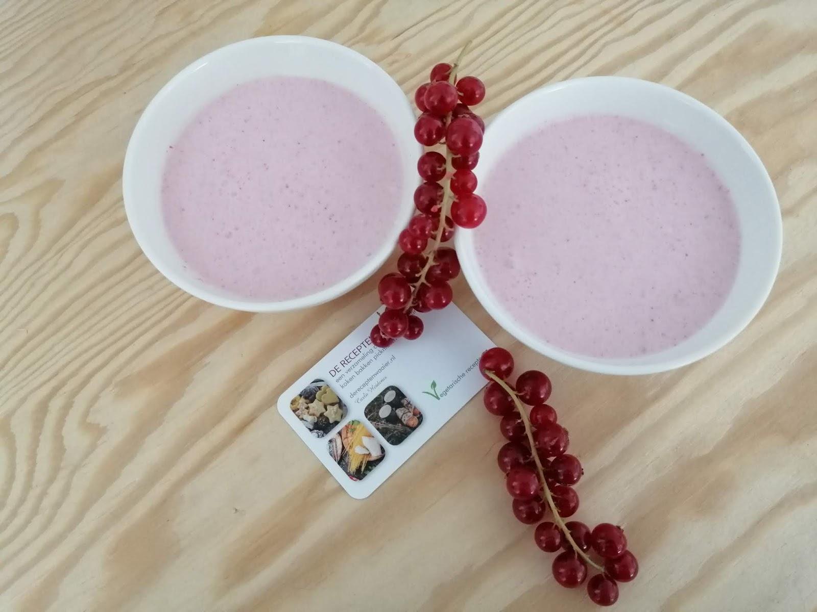 Rodebessenyoghurt