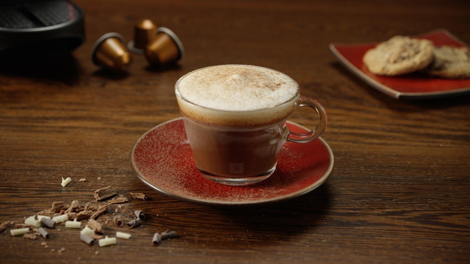 Nespresso mokka latte