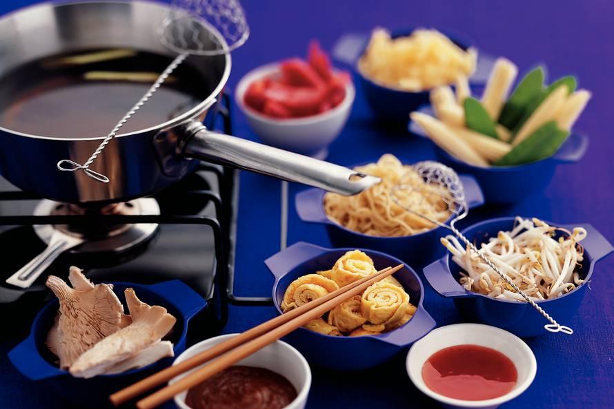 Chinese groentenfondue