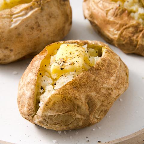 Jacket potatoes – basisrecept