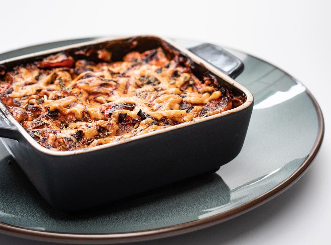 Lasagna uit de airfryer