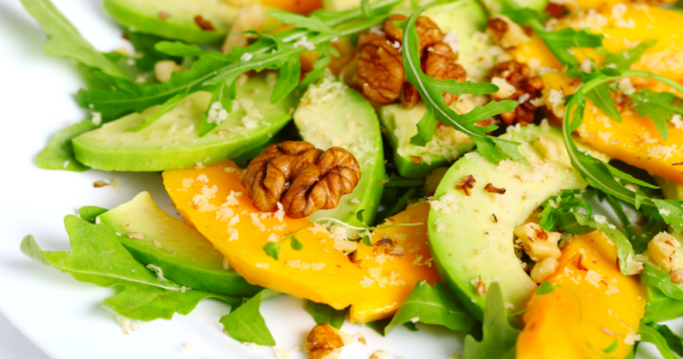 Avocado-mango salade