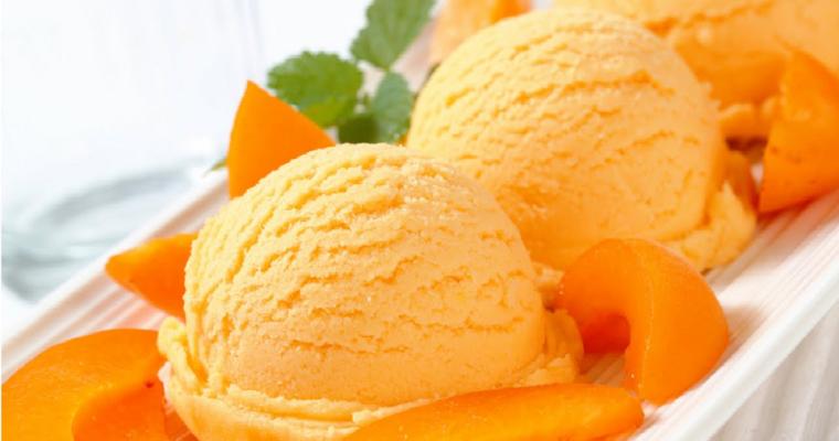 Mango ijs met kokos