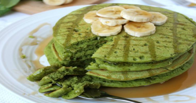 Spinazie/Banaanpannenkoekjes