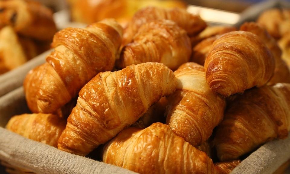 Mini croissantjes van bladerdeeg