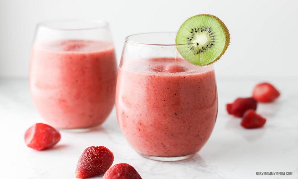 Kiwi Aardbeien Smoothie